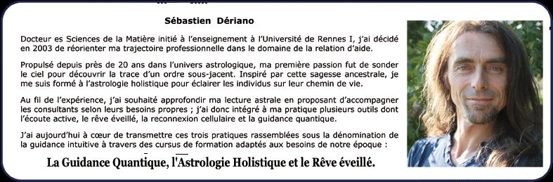 Formateur Guidance Quantique - Rêve éveillé - Astrologie holistique